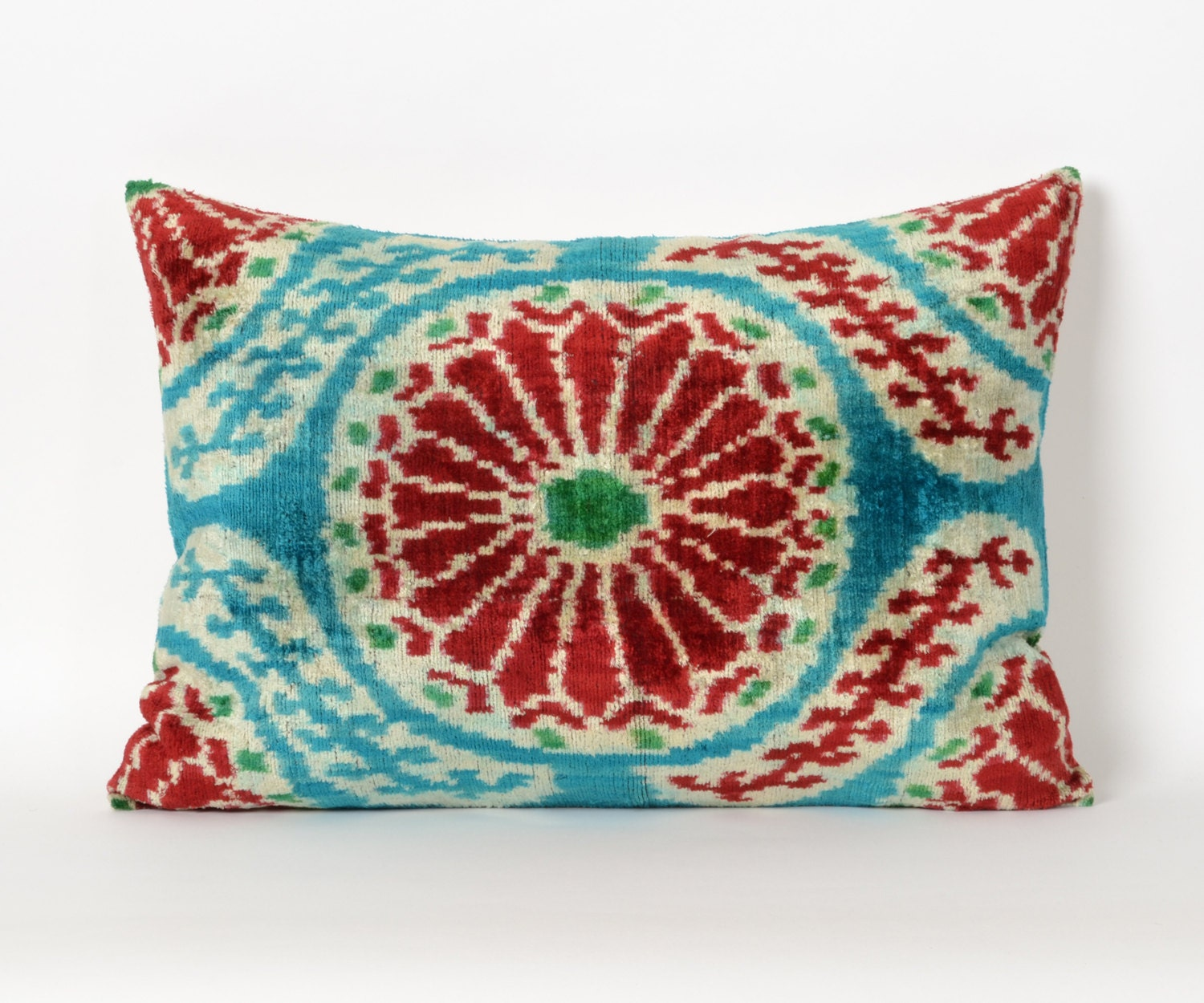 Throw Pillows Velvet : decorative pillow ikat pillow velvet pillow throw pillow