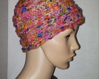Colorful thick knitted Cap