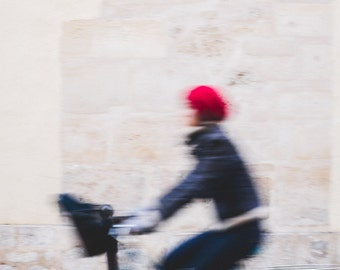 Paris Photography, Paris Bicycle Print, Paris Print, Paris Decor, Bicycle Photograph, Fine Art Photography, Paris Street Photography
