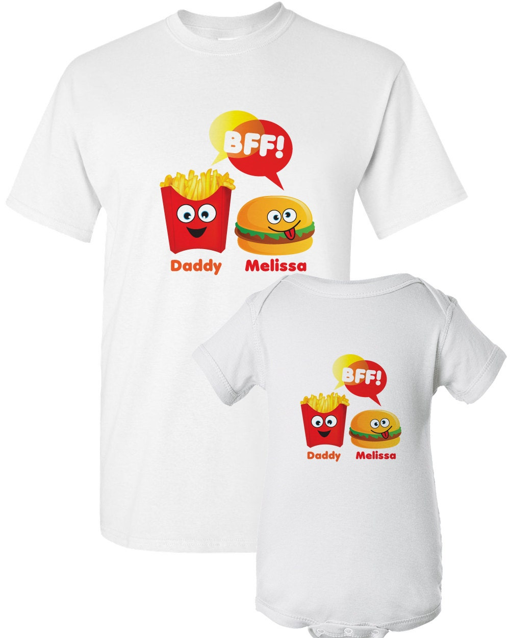 Daddy Shirt Set Dad and Son Shirts Matching Father Son