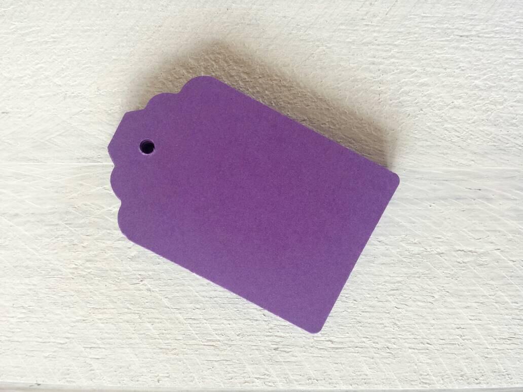 Purple Tag: Purple Gift Tags- Light Purple- Lilac Purple- Dark Purple