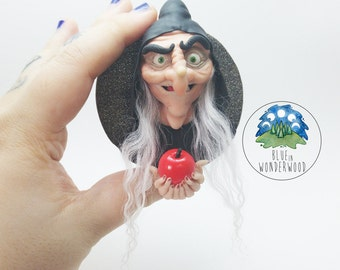 GRIMILDE Old Witch - Snow White DISNEY Inspired - OOAK