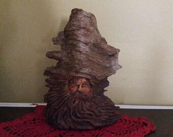 1987 Stephen Herrero Wood Spirit Sculpture