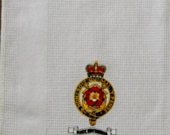 HMV Britannia retro tea towel