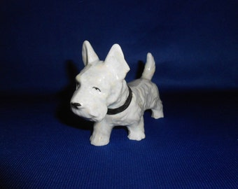 Scotty Dog Figurine Pearl Finish