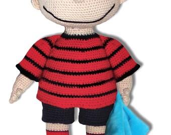 Crochet Pattern - Linus van Pelt