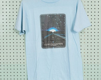 70s Vintage Close Encounters of the Third Kind Roach T Shirt