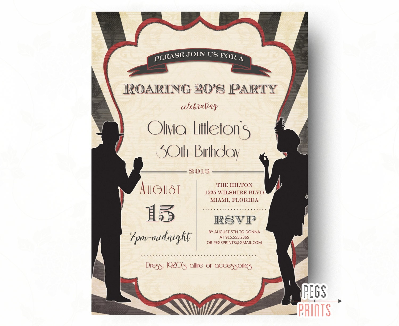 Gatsby Themed Wedding Invitations for luxury invitation design