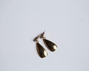 Golden Droplet Earrings
