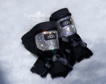 Women's Bling UGG Australia Brand Boots - Made with SWAROVSKI® Crystals Clear