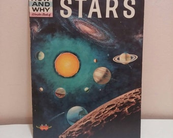 1960 book Stars How and Why Wonder Book children's astronomy