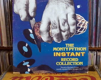"""MONTY PYTHoN on ViNYL """"Instant Record Collection - The Pick Of The Best Of Some Recently Repeated Python Hits Again, Vol. II"""" 1981 Arista"""