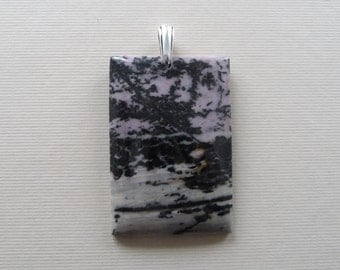 Rhodonite Natural Stone Pendant