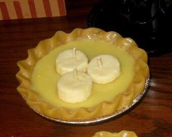 "9"" Banana Cream Pie Candle"