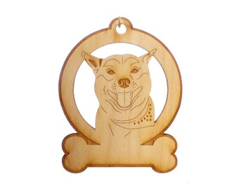Shiba Inu Ornament - Shiba Inu Gift - Shiba Inu Ornaments - Shiba Inu GIfts - Shiba Inu Memorial - Personalized Free