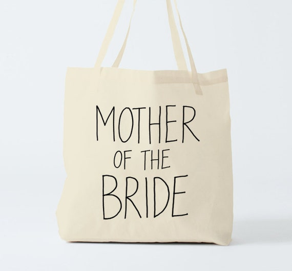 MOTHER of the BRIDE Tote Bag, wedding tote bag.