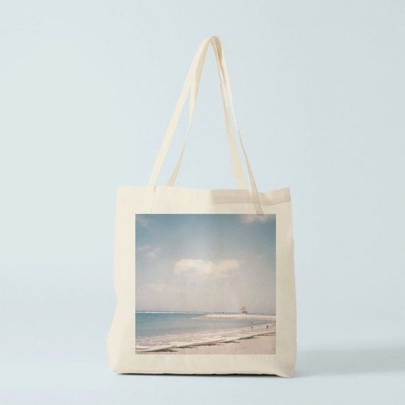 Tote bag Bali Beach. Photo, Cotton bag, gift best friend, gift sister, gift for her, beach bag, school bag, novelty gift, canvas bag, women.