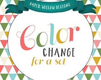Custom Color Change Set-Add on