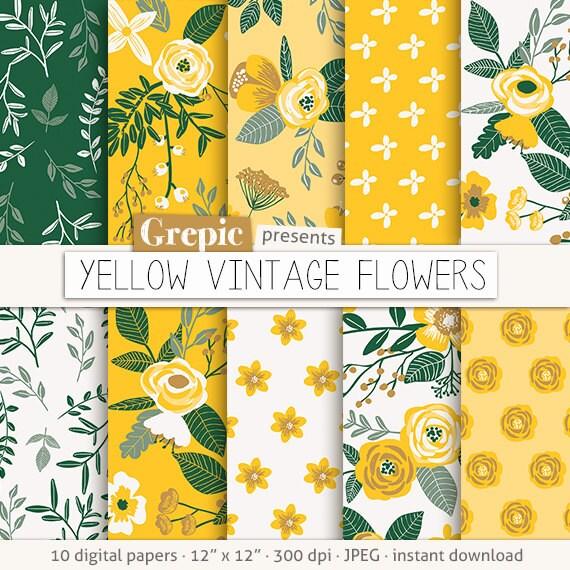 Vintage Pattern Paper