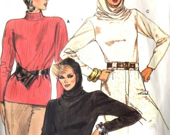 Vogue 9428 Misses Top with Hood Sewing Pattern