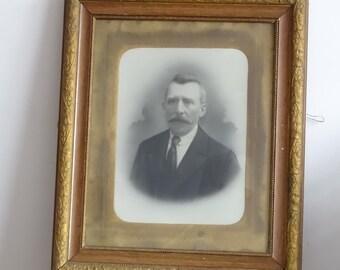 REDUCED Antique Photo in Art Nouveau Frame
