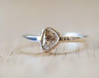 SOLD // Freedom - Diamond Slice Ring