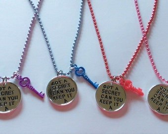 YOU CHOOSE Pretty Little Liars Inspired Charm Necklace