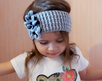 Crochet Headband / Boho Headband / Womens Headband / Hair Accessories / Womens Accessories / Baby Headband / Little Girl's Crochet Headband