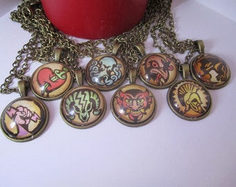 Bioshock Infinite Vigor Necklace