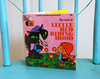 Little Red Riding Hood, a Disneyland Record & Book