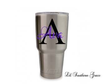 "Shop ""yeti cup monogram"" in Home Appliances"