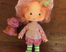 Strawberry Shortcake Doll Raspberry Tart and Rhubarb