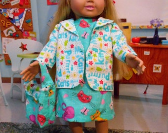 """Doll clothing for 18"""" American Girl Doll"""