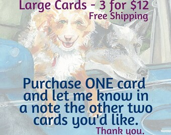 LARGE CARD Instructions
