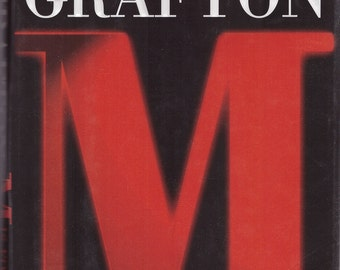 M is for Malice **SIGNED** **FIRST EDITION** (1996)