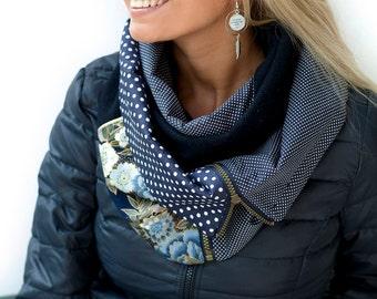 DISCOUNT 10% scarf ZIP Youpla: ANAIS ZIP4