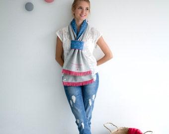 Headscarf mid-season Youpla: model Aurore (Spring 5)