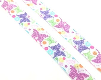 5/8 Butterfly - Fold over elastic - Foldover elastic by the yard