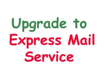 upgrade to EXPRESS MAIL SERVICE