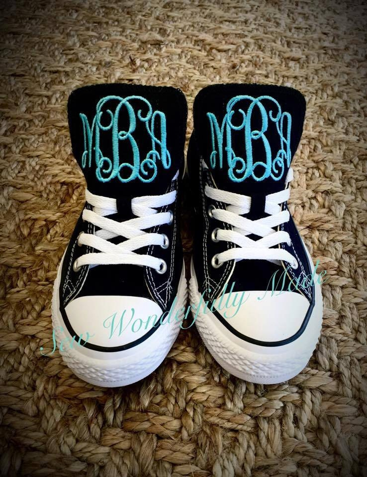 fed08b4cacf3be monogrammed converse shoes 6 colors available adult womens men monogrammed  low top converse wedding day converse