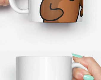 Pedo Bear Meme - funny mug, gifts for him, meme mug, unique mug, office mug, housewarming gift, gifts for her 4P038A