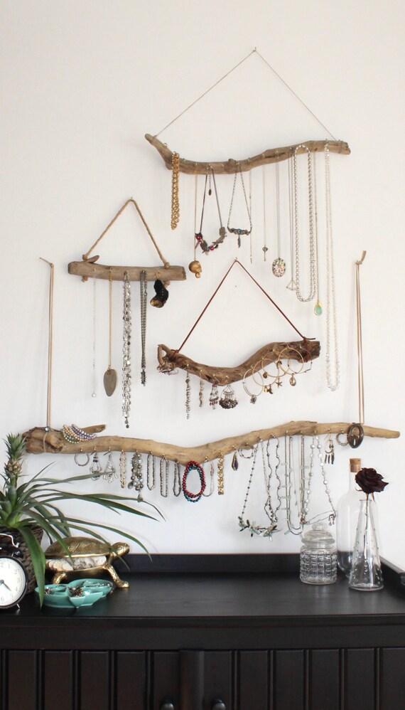 Driftwood Jewelry Organizer Made to Order Jewelry Holder