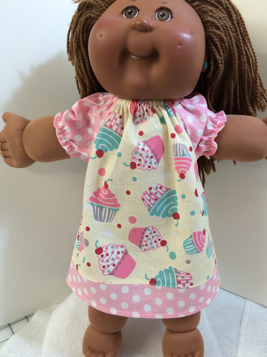 cabbage patch doll clothes 14 16 happy by sewcutedolly