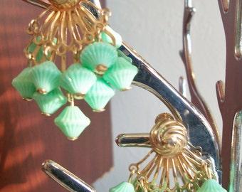 Mint Green Dangling Earrings