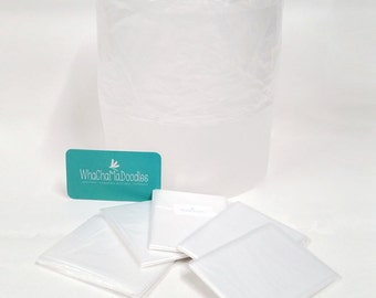 Disposable Liners for Car Trash Bags, clear, Car Trash Bag, 10 per pack, Ready to Ship