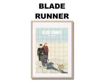 Blade Runner Movie Print - Poster Ridley Scott A3