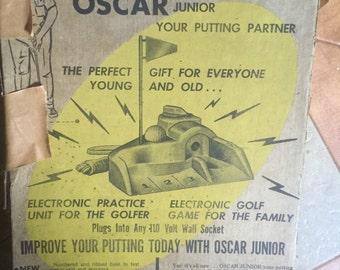 Vintage Oscar Jr. Putting Partner