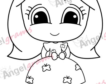 Dolly Digi Stamp Instant Download with Introductory Price