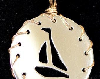 Sailboat in Silver