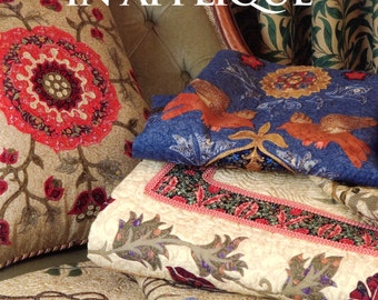 William Morris in Applique by Michele Hill (quilting) | Craft Book
